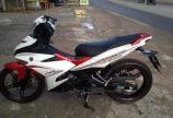 Cần bán xe Yamaha Exciter 150 cc, xe màu trắng đỏ, bán giá rẻ tại HCM