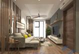 Thiết kế nội thất chung cư 2 ngủ theo phong cách hiện đại đơn giản
