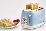 Máy nướng bánh mì Ariete 2 khay Mod 0155 bữa sáng tiện lợi
