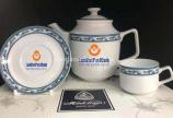 In logo lên bộ ấm chén tại Công ty in Minh Châu với giá tốt, nhận nhiều ưu đãi