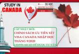 Chính sách mới: Tin tức cấp visa Canada