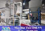 Máy hút hạt nhựa - Phương pháp vận chuyển liệu không nhân công