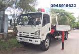 Bán xe tải gắn cần cẩu tự hành Isuzu VM