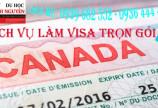Dịch vụ làm visa canada trọn gói