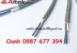 Cáp điều khiển Altek Kabel 2x0.5mm2, 2x0.75mm2, 2x1.0mm2, 2x1.5mm2