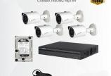 Trọn bộ camera KIT KBVISION IP VỎ SẮT- thiết bị thông minh