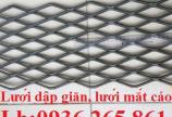 Sản xuất lưới dập giãn, lưới kéo giãn XG, XS63, lưới mắt cáo, lưới quả trám giá rẻ