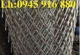 Sản xuất lưới thép hình thoi làm cầu thang, lan can, hành lang, sàn thao tác