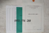 Quyển Lý lịch viên chức mẫu HS01