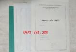 Bán 3 bìa kẹp hồ sơ viên chức theo thông tư 07/2019/tt-bnv
