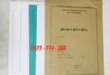 Bán vỏ hồ sơ cán bộ công chức các loại