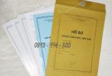 Bìa kẹp hồ sơ cán bộ công chức viên chức mẫu mới năm 2020