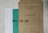 Bán cuốn lý lịch cán bộ công chức, viên chức theo thông tư 07
