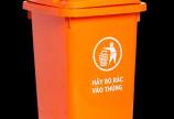 Thùng rác nhựa 60L có bánh xe