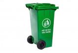 Thùng rác nhựa 120L chất liệu HDPE