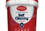Sơn ngoại thất Kova tự làm sạch có đặc tính gì?