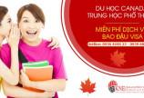 Du học Canada trung học phổ thông, bao đậu visa