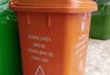 Thùng rác nhựa 100 lít nắp đẩy
