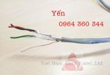 Cáp tín hiệu vặn xoắn 1Pair/2Pair/3Pair/4Pair Altek Kabel chính hãng