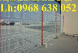 Lưới hàng rào ngăn kho nhà máy, nhà xưởng, hàng rào bảo vệ vỉa hè bền đẹp chất lượng