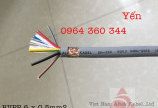 cáp điều khiển Altek Kabel SH-500 6x0.5mm, 6x0.75mm, 6x1.0mm, 6x1.5mm chống nhiễu
