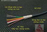 Cáp tín hiệu cân điện tử 4c x 0.22mm2