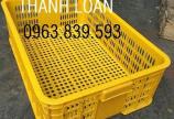 Sóng trái cây có nắp, sóng nhựa đan, sọt nhựa đựng trái cây./ 0963.839.593 Ms.Loan