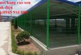 Mua lưới hàng rào D5a 50x150 gập 2 đầu tam giác