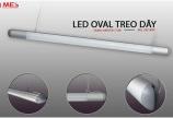 Đèn Led thanh treo oval cao cấp bảo hành 3 năm