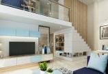 Căn hộ Duplex 1PN 34m2 Gia Bình Home, Q.B.Thạnh - Tp.HCM