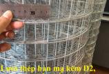 Mua lưới thép mạ kẽm dây 2ly mắt 50*50mm dạng cuộn 1mx30m và 1m2x30 giá sỉ
